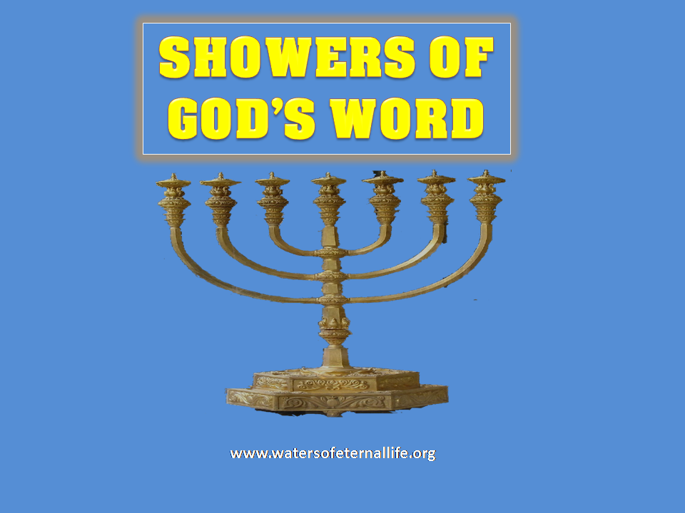 SHOWERS OF GOD'S  WORD